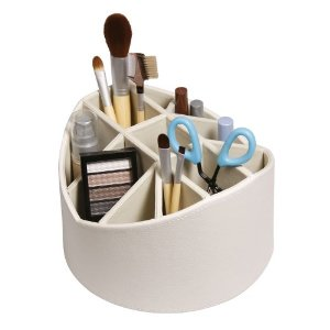 Makeup Brush Rotating Storage Caddy