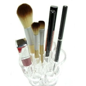 Flower Cosmetic and Makeup Brush Holder