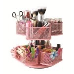 Nifty Cosmetic Organizing Carousel Pink